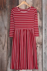 Cupshe Wouldn't Wanna Miss This Stripe Dress
