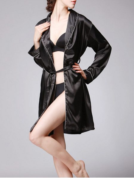 Surplice Plain Polyester Night Robe