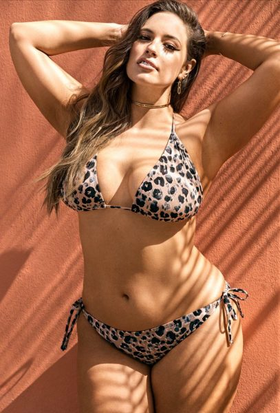 Ashley Graham Heroina Leopard Bikini