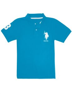 U.S. Polo Assn. Pique Mesh Big Logo Polo Shirt