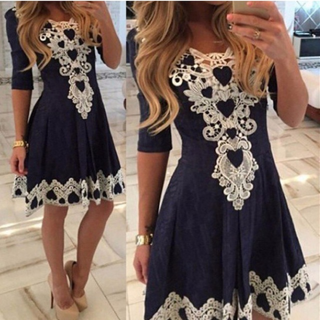 Evening Lace Party Dress