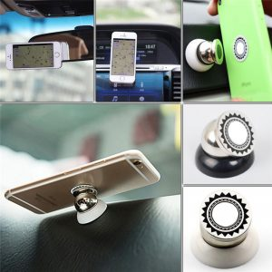 360 Degree Universal Magnetic Air Vent Car Phone Holder Mount