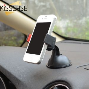 Car Sucker Phone Stand Holder Navigate Case For iPhone Samsung Galaxy