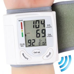 Professional Wrist Portable Digital Automatic Blood Pressure Monitor