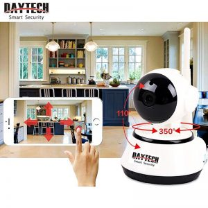 Wireless WiFi IP Camera 720P Night Vision