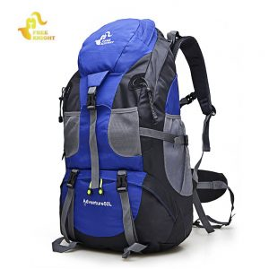 FREEKNIGHT 50L Outdoor Waterproof Backpack Camping Bag
