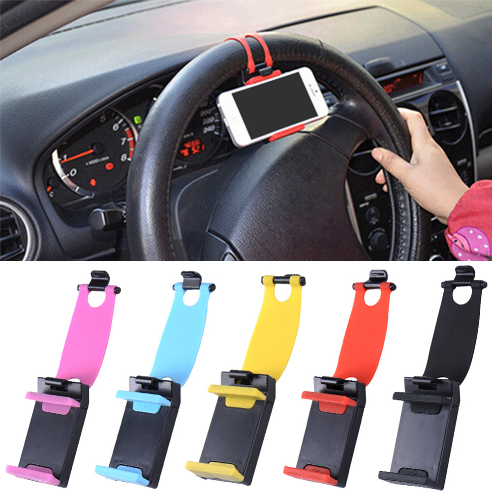 Universal Car Phone Steering Wheel Holder