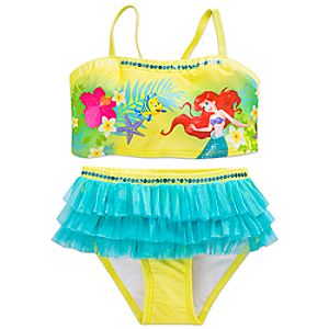 Ariel Swimsuit for Girls - 2-Piece