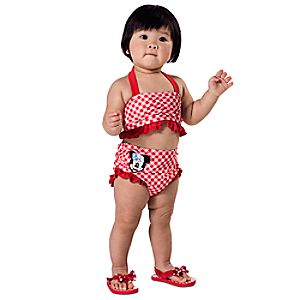 Minnie Mouse Swimsuit for Baby - 2-Piece