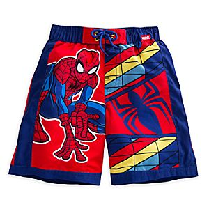 Spider-Man Swim Trunks for Boys