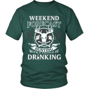 Hunting with a Chance of Drinking T-Shirt - Hunting Shirt