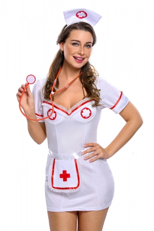 Flirty Night Nurse Costume