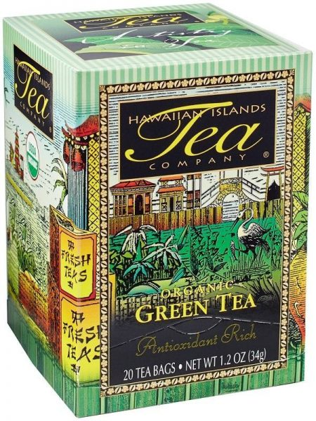 Hawaiian Islands Organic Green Tea