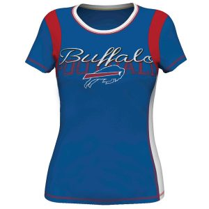 Buffalo Bills Majestic Women's Pride Playing V T-Shirt