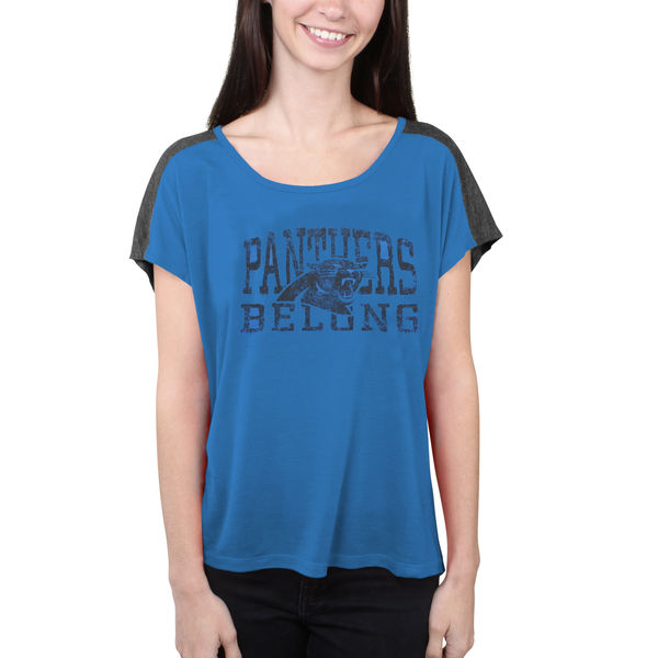 Carolina Panthers Majestic Women's Play For Me T-Shirt