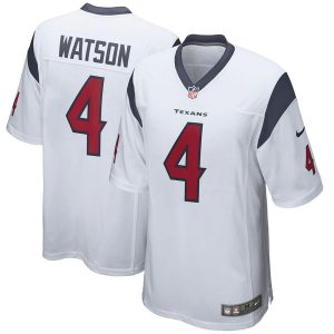 Deshaun Watson Houston Texans Nike 2017 Draft Pick Game Jersey