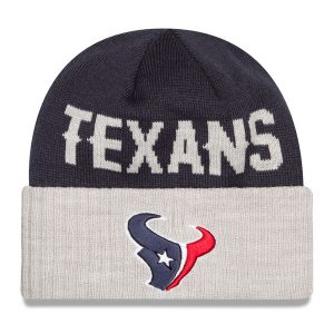 Houston Texans New Era Classic Cover Cuffed Knit Hat