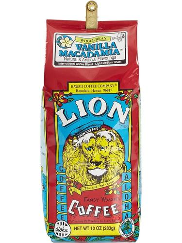 Lion Vanilla Macadamia Flavored Coffee 24oz