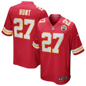 Kareem Hunt Kansas City Chiefs Nike Game Jersey