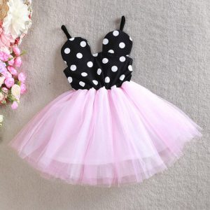 Dots Micky Lace Tutu Princess Dress