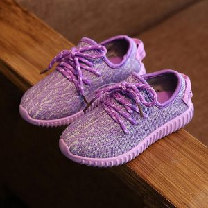 Kids Mesh Fabric Sports Shoes