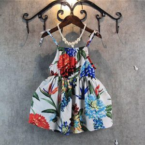 Flower Printing Sundress