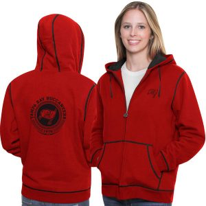 Tampa Bay Buccaneers Historic Logo Women's Retro Badge Hoodie