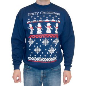 Snowmen and Snowflakes Sweatshirt