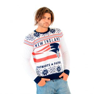 New England Patriots Christmas Sweater