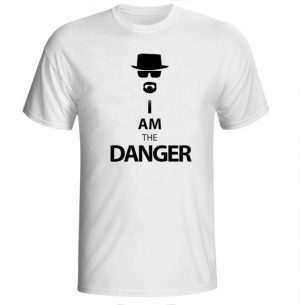 Breaking Bad T Shirts Mens I Am The Danger The One Who Knocks