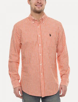 Black Mallet Striped Oxford Shirt