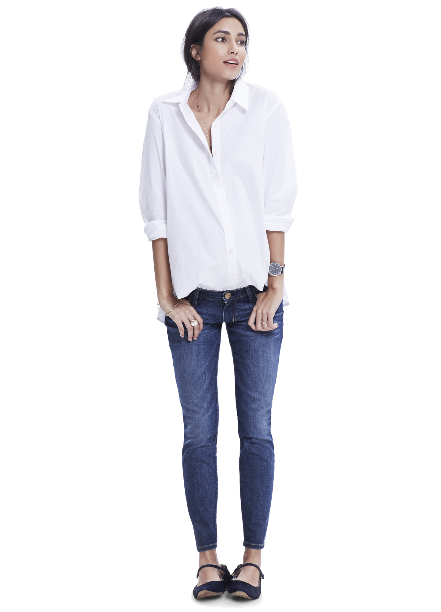 The Nearly Skinny Maternity Jean