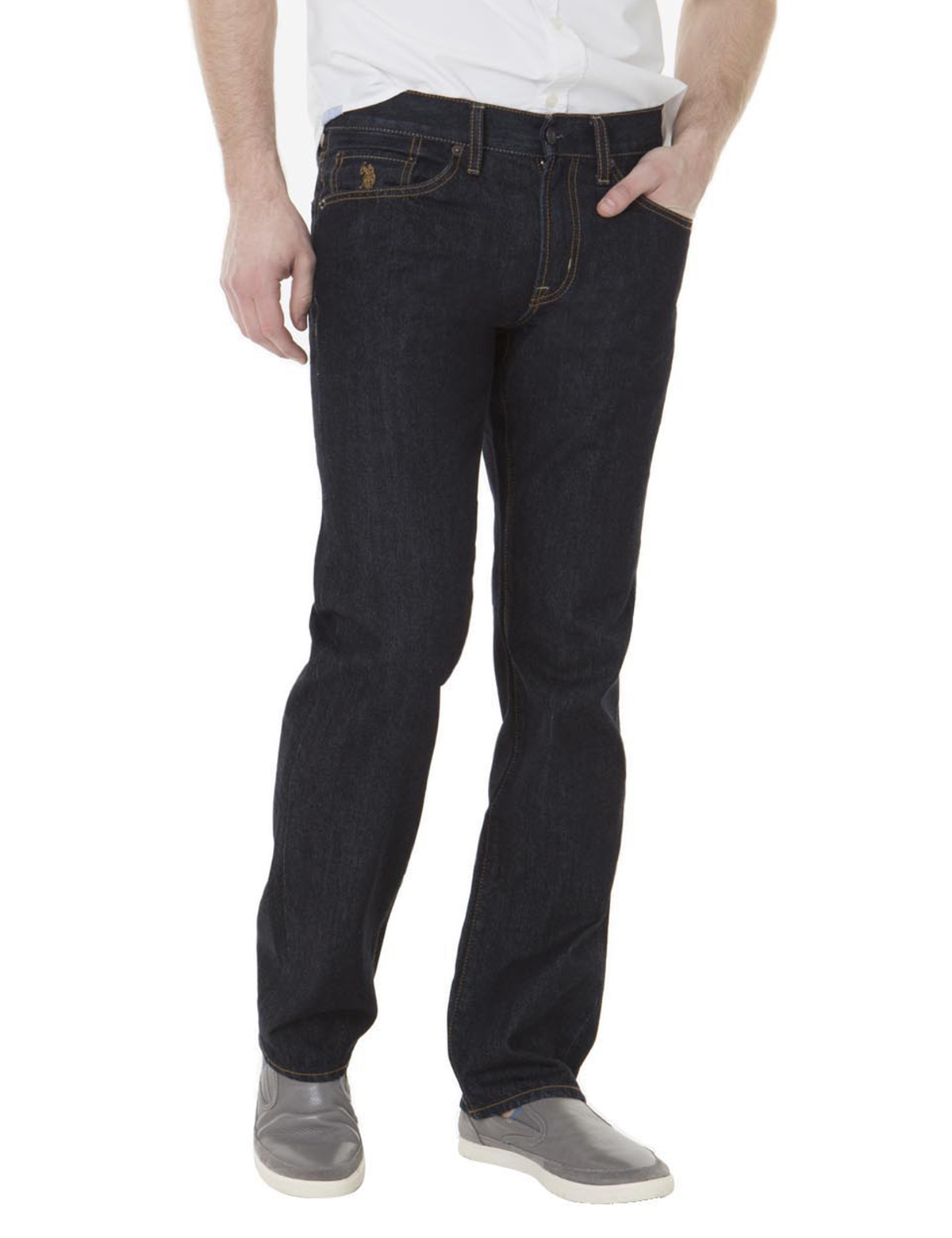 U.S. Polo Assn. Slim Straight Fit Jeans Blue