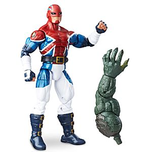 Captain Britain Action Figure