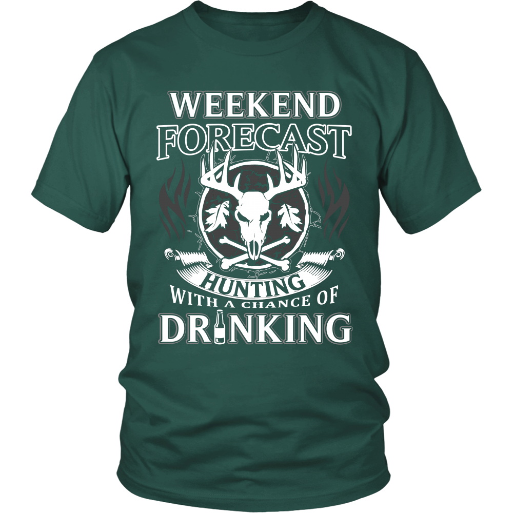 Hunting with a Chance of Drinking T-Shirt