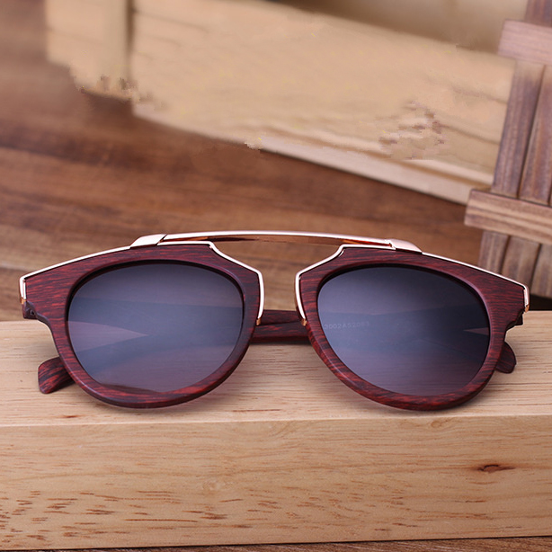 Sun Glasses ladies Vintage Texture Wood