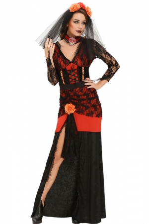 Day of The Dead Diva Halloween Costume