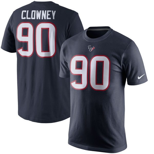 Jadeveon Clowney Houston Texans Name & Number T-Shirt