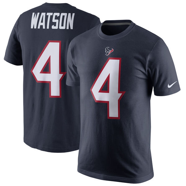 Deshaun Watson Houston Texans Name & Number T-Shirt