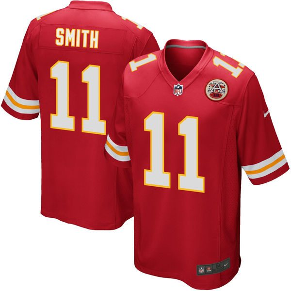 Alex Smith Kansas City Chiefs Nike Youth Game Jersey