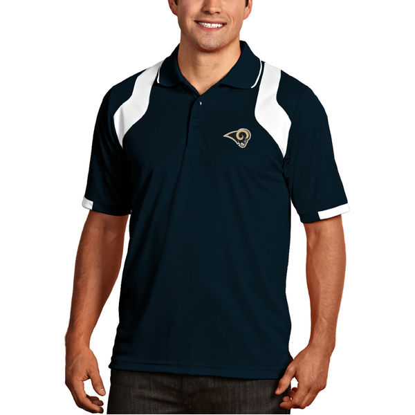 Los Angeles Rams Antigua Fusion Polo