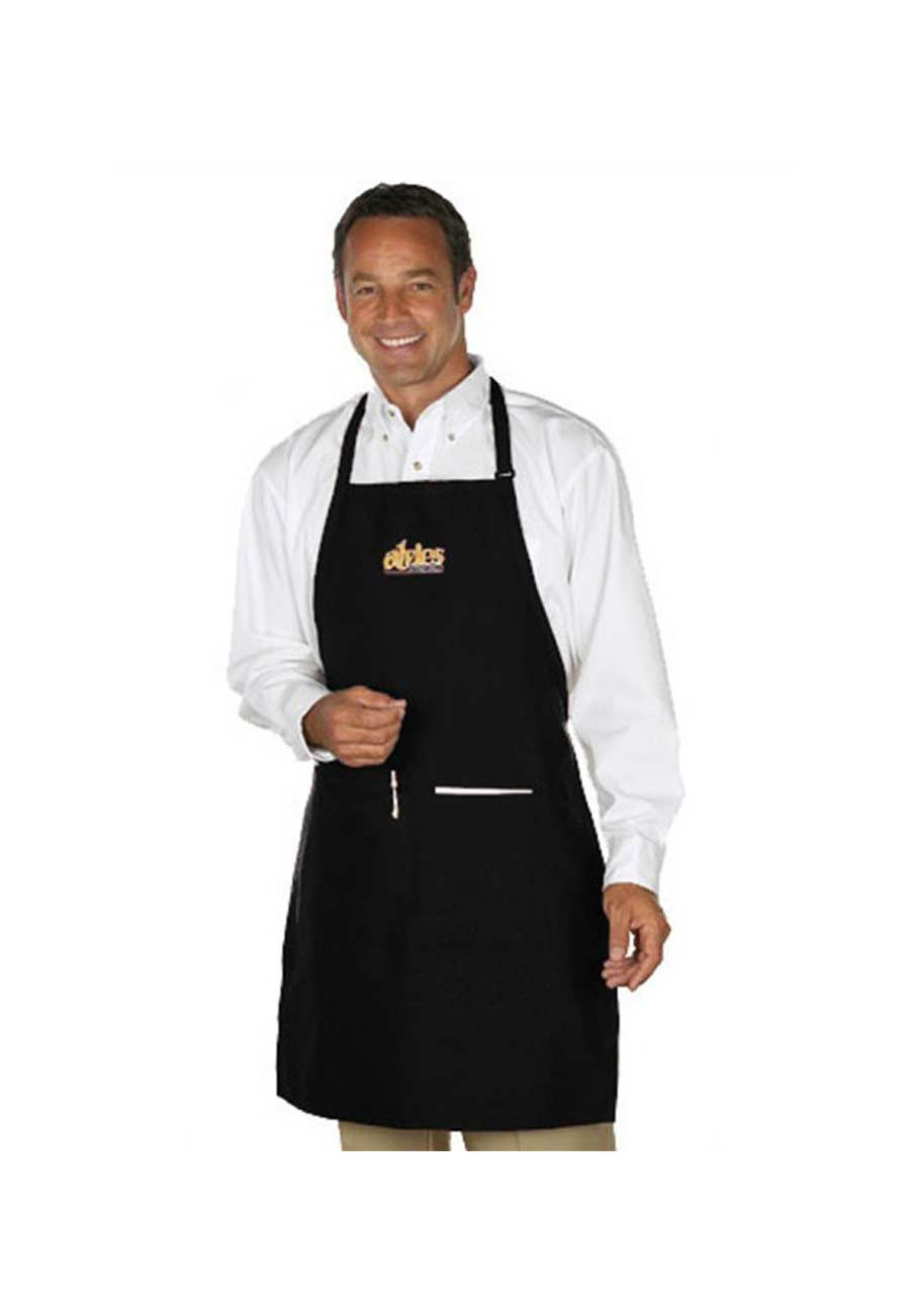 Fame Butcher 2 Pocket Adjustable Bib Apron
