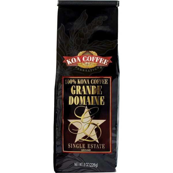 Grande Domaine Vienna Roast Ground Kona Coffee