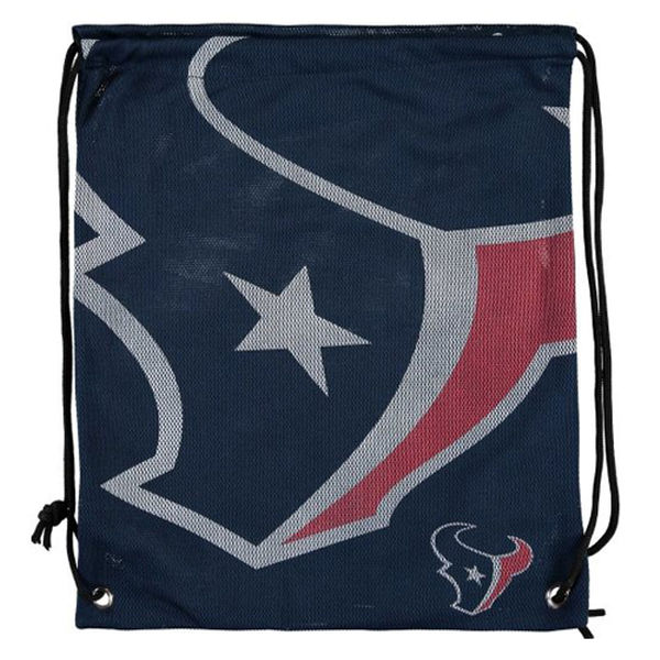Houston Texans Jersey Drawstring Backpack