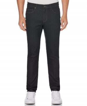 Perry Ellis Men's Skinny Stretch Denim Jeans in Dark Grey/Gray